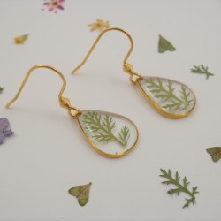 Minimalistic Achillea Earrings