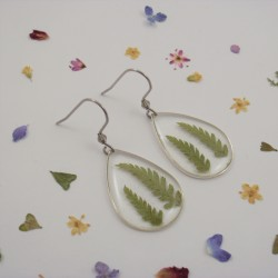 Fern Earrings Drop