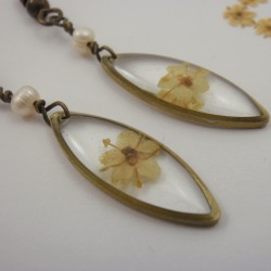 Elderflower Earrings with...