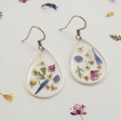 Meadow Flowers Drop Earrings