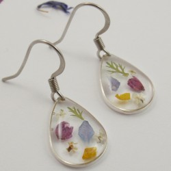 Dainty Flower Earrings
