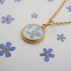 Forget Me Not Necklace 2