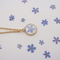 Forget Me Not Necklace 3