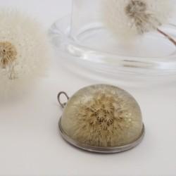 Dandelion Half Sphere Pendant