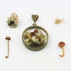 Forest Terrarium Necklace...