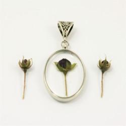 Tiny Rose Necklace