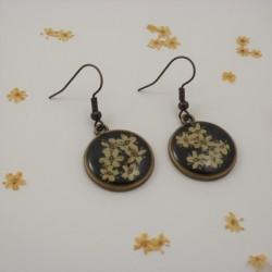 Vintage Elderflower Earrings