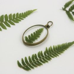 Vintage Fern Necklace