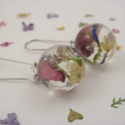 Meadow Mixed Flowers Earrings
